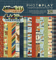 Photoplay - Campfire-Lakeside - 6X6 Paper Pad - Pre Order