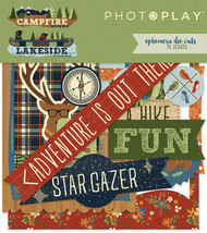 Photoplay - Campfire-Lakeside - Ephemera Cardstock Die-cuts- Pre Order