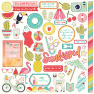 Photoplay -For The Love Of Summer- Element Stickers - Pre Order