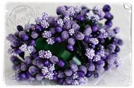 Magnolia Stamps Vintage Berries Violets