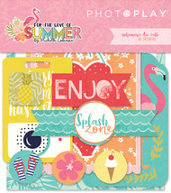 Photoplay - For The Love Of Summer - Ephemera Cardstock Die-cuts- Pre Order