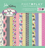 Photoplay - Julie Nutting Seeds Of Kindness - 6x6 Paper Pad - Pre Order