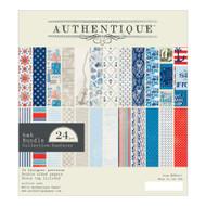 Authentique - 6x6 Paper Pad - Seafarer (SFR015)