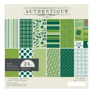 Authentique - 6x6 Paper Pad - Emerald (EME008)