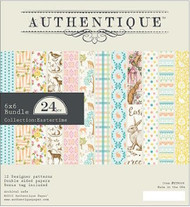 Authentique - 6x6 Paper Pad - Eastertime