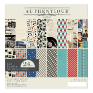Authentique - 6x6 Paper Pad - Dapper (DAP011)