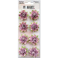 "49 and Market - Vintage Shades Blossoms 1.25"" - Orchid"