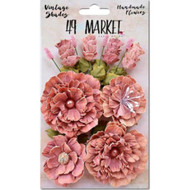 49 and Market - Vintage Shades Bouquet Assorted - Cerlse (49M-343408)