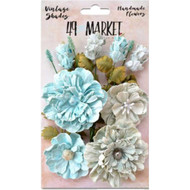 49 and Market - Vintage Shades Bouquet Assorted - Blue (49M-343409)