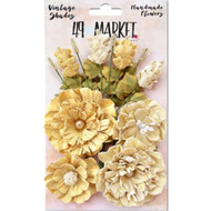 49 and Market - Vintage Shades Bouquet Assorted - Yellow (49M-343411)