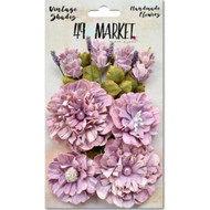 49 and Market - Vintage Shades Bouquet Assorted - Orchid (49M-343412)