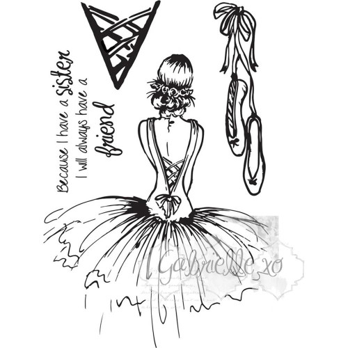 49 and Market - 4x6 Clear Stamps - Gabl's Haute Couture (49M-366573)