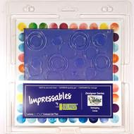 Gel Press - Impressables - Overlapping Circles (GP-10815-SLM01)