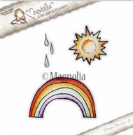 Magnolia Stamps - Lovely Emojis - Sun, Raindrops & Rainbow Kit