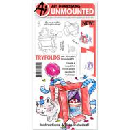 Art Impressions - MTF Rubber Stamp - Everything Wonderful ( AI4851)