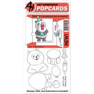 Art Impressions - PopCard - Panda (AI4860)