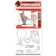 Art Impressions - PopCard - Horse (AI4861)