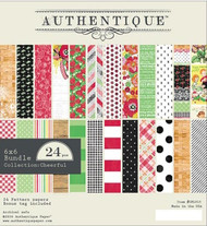 Authentique - 6x6 Paper Pad - Cheerful