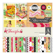 Authentique - 12x12 Collection Kit - Cheerful (CFL016)