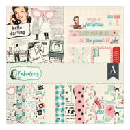 Authentique - 12x12 Collection Kit - Fabulous (FAB017)