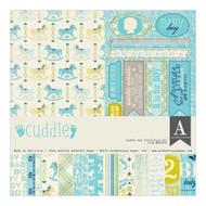 Authentique - 12x12 Collection Kit - Cuddle Boy (BCD020