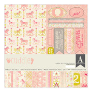 Authentique - 12x12 Collection Kit - Cuddle Girl (GCD020)