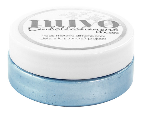 Nuvo Embellishment Mousse – CORNFLOWER BLUE – 806N