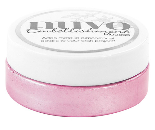 Nuvo Embellishment Mousse – PEONY PINK – 800N
