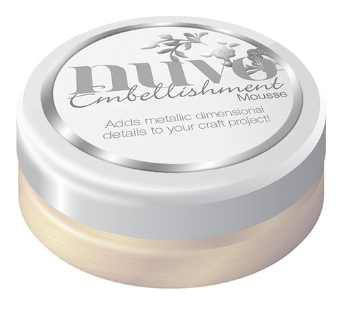 Nuvo Embellishment Mousse – MOTHER OF PEARL – 804N