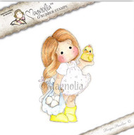 Magnolia Stamps Tilda With Egg and Chicken