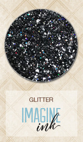 Blue Fern Studios - Imagine Ink - Glitter - Pewter