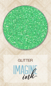Blue Fern Studios - Imagine Ink - Glitter - Kelly Green