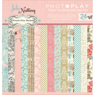 Photoplay - Julie Nutting French Flea Market - 6x6 Paper Pad