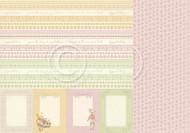 Pion Design - Theodore and Bella - 12 X 12 - Borders