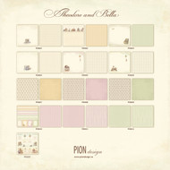 Pion Design - Theodore and Bella - 12 X 12 - Collection