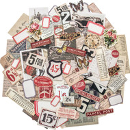 Tim Holtz Idea-ology Layers - Snippets Ephemera (TH93564)