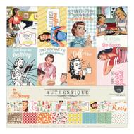 Authentique - 12x12 Collection Kit - Saucy (SAU012)