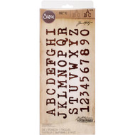 Sizzix Bigz XL Dies by Tim Holtz - Typo Upper (TH661198) -1