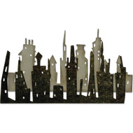 Sizzix Thinlits Dies By Tim Holtz - Cityscape, Skyline (TH661810)