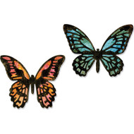 Sizzix Thinlits Dies By Tim Holtz - Mini Butterflies