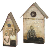 Sizzix Bigz Large Die By Tim Holtz - Tiny Houses (TH661819)