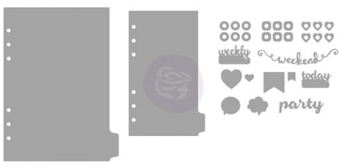 Prima Marketing - My Prima Planner Metal Dies - Shapes 3  1