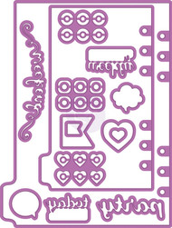 Prima Marketing - My Prima Planner Metal Dies - Shapes 3