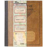 """7 Gypsies - Architextures Kraft Composition Book 5""""X6"""""""