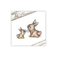 Magnolia Stamps It's Springtime - Sweet Rabbits