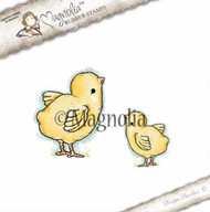 Magnolia Stamps It's Springtime - Cute Chickens