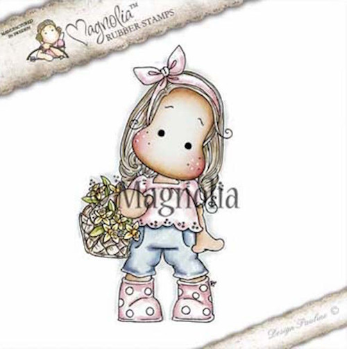 Magnolia Stamps It's Springtime - Tilda With Dotted Boots