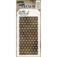 Tim Holtz Layering Stencil - Diamonds - THS081