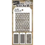 Tim Holtz Mini Layering Stencil - Set 27