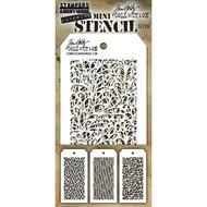 Tim Holtz Mini Layering Stencil - Set 26